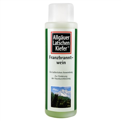 Allgauer Franzbranntwein (Dwarf Pine Body Rub) 500ml by Allgauer