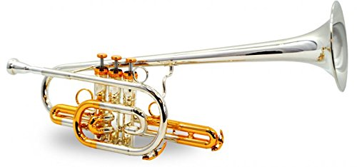 Marching Trumpet (Schiller American Heritage BandLeader 45 Trumpet - Silver & Gold)