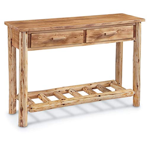 (CASTLECREEK Log Sofa Table)