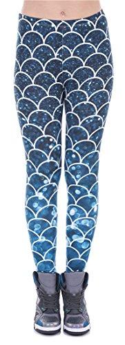 Delcoce Digital Printed Versatile Leggings