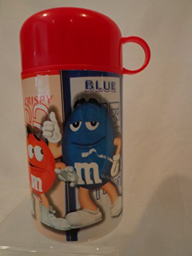 Used, M & M Thermos, M & M Insulated Container and Cup, M for sale  Delivered anywhere in USA