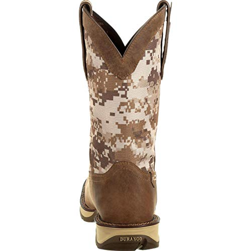 Western Toe Dusty Ddb0166 Camo Camo Rebel Men's by Square Desert Brown Durango Desert Boot RFUqUX