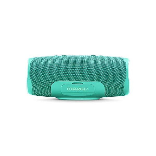 JBL Charge 4 - Enceinte Bluetooth portable avec USB - Robuste et étanche : pour piscine et plage - Son puissant - Autonomie 20 hrs - Turquoise 4