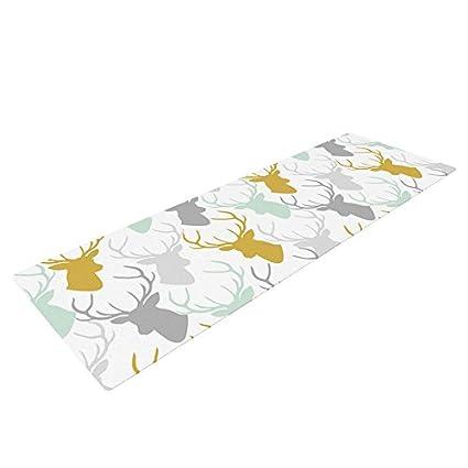 Amazon.com : Kess InHouse Pellerina Design Scattered Deer ...