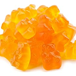 Peach Gummi Bears Peach flavor Gummy Bears 5 pounds Orange Candy candy buffet