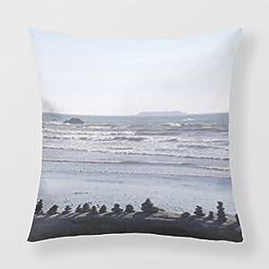 Refiring Cushion Pillow Washington Coast Beaches Throw Pillow Covers 18
