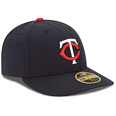 Minnesota Twins Low Profile Fitted Size 8 Hat Cap - Team Colors