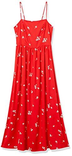 Amazon Brand - Goodthreads Women's Georgette Smock-Back Cami Maxi Dress
