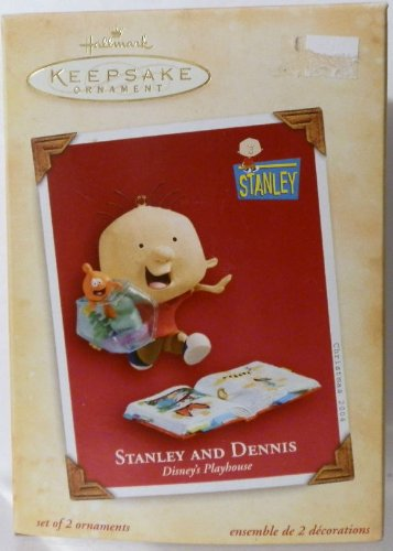 Hallmark Keepsake Disney's Playhouse Stanley and Dennis 2004 Christmas Ornament ()