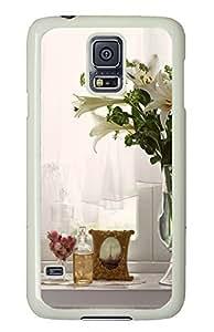 Samsung Galaxy S5 Indoor Flower Arrangements PC Custom Samsung Galaxy S5 Case Cover White by icecream design