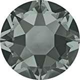 2000, 2038 & 2078 Swarovski Flatback Crystals Hotfix Black Diamond   SS34 (7.2mm) - 144 Crystals (Wholesale)   Small & Wholesale Packs