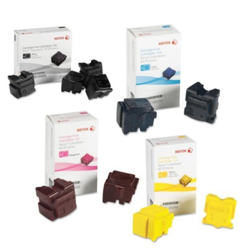Xerox 108R00926 Ink Cartridge (Black,Cyan,Magenta,Yellow,10-Pack) in Retail Packaging