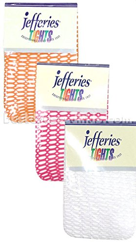 Jefferies Girls Fun and Funky Fishnet Footed Tights for ages 4 to 10 uears. - Hot 10 Year Old Girls