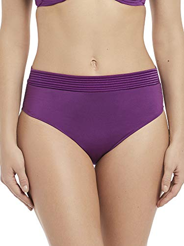 Fantasie Rio Bueno Deep Bikini Bottom, L, Mixed Berries -