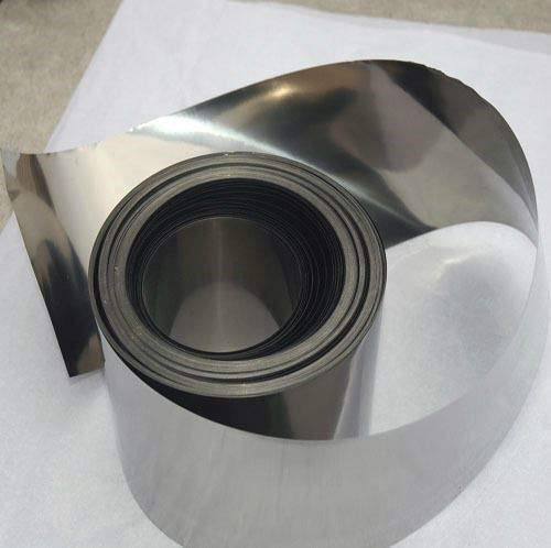 99.96% Pure Nickel Ni Metal Foil Thin Sheet 0.05mm x 100mm x 1000mm