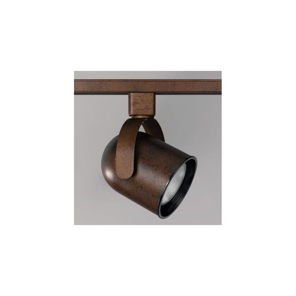 Cal Lighting LT 196 RU Rust Art Deco / Retro 1 Light Adjustable Track Head for LT Series Track Systems LT 196