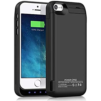 Amazon.com: YISHDA Battery Case Compatible for iPhone 5 5S