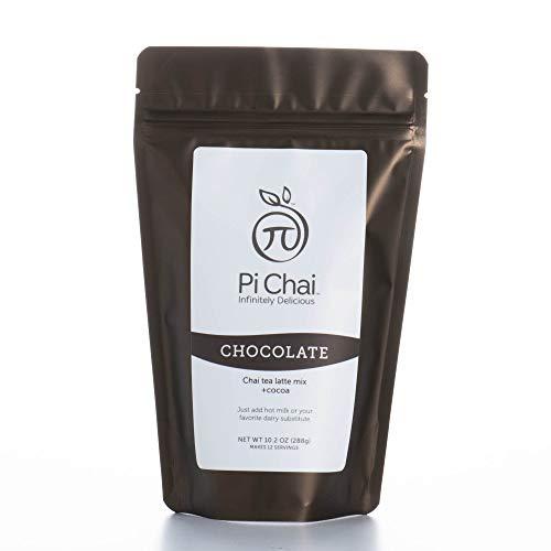 Pi Chai Chocolate, Chai Tea Latte Mix With Chocolate, 10.2 Ounce