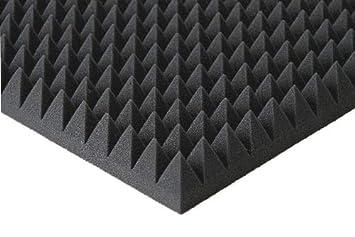 Pyramiden Schaumstoff SELBSTKLEBEND Flammhemend MVSS302 Schallschutz Noppenschaum Mit Selbstklebend Ca 100x100x5cm