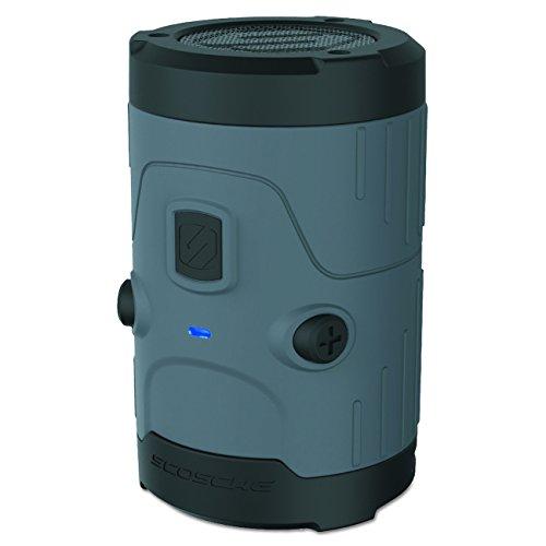 (Scosche boomBOTTLE H2O Bluetooth Wireless Speaker - Gray)