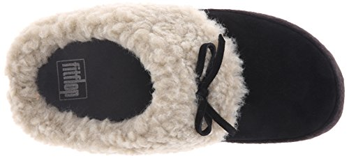 FitFlop Cuddler FitFlop Womens The Womens Black Slippers pwpTqrSKU