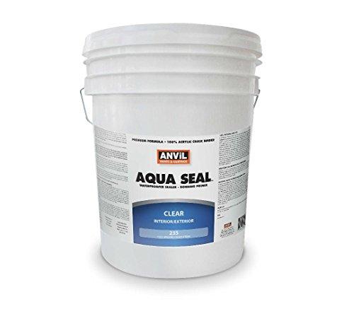 Anvil Aqua Seal Waterproofer Bonding Primer #235 Acrylic Clear Penetrating Sealer (5 Gallon) (Anvil Block)