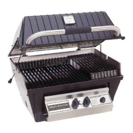Broilmaster P4X Grill Head, Premium Black Natural Gas