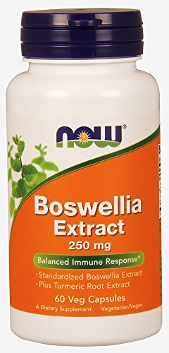 Boswellia ExtractwithCurcuminExtract 250 mg 60 Caps by Now F