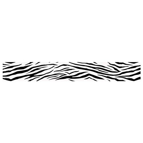 30ft Zebra Print Crepe Paper Streamers