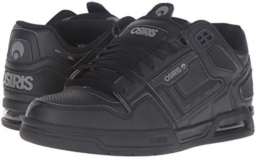 Zapatos Osiris Peril Negro-Gris (Eu 39.5 / Us 7 , Negro)