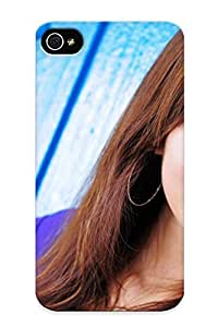 Guidepostee Shock-dirt Proof Mikako Zhang Kaijie Case Cover Design For Iphone 4/4s - Best Lovers