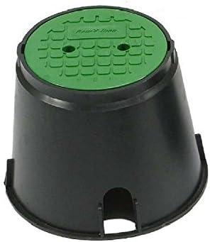 Rain Bird VBA02673 - Caja de válvulas redonda con tapa