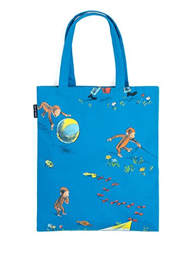 Out of Print Curious George Tote Bag, 15 X 17 Inches