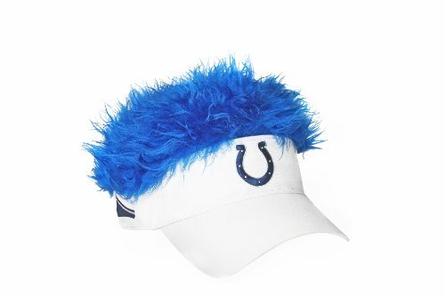 930ea1b2e565b Indianapolis Colts Flair Hair Visor. Velcro adjustable back
