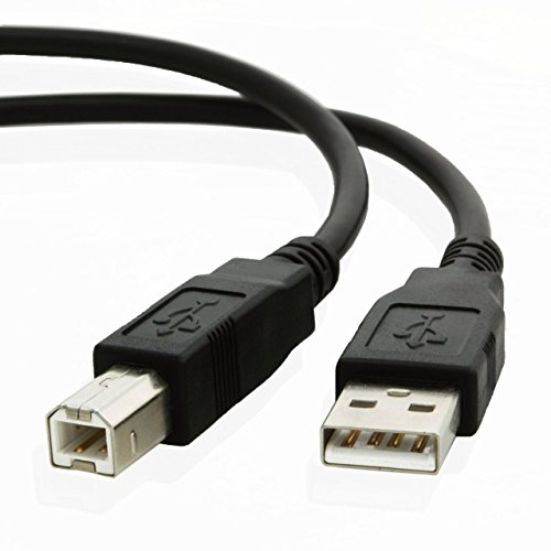 6ft USB Cable for HP Deskjet 1512 Inkjet All-in-One Printer