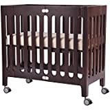 Bloom Alma Mini Urban Crib Frame, Cappuccino