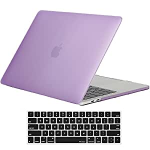 MacBook Pro 13 Case 2016 A1706/A1708 ProCase Hard Case Cover Shell and Keyboard Skin Cover for Apple Macbook Pro 13 Inch (2016 Release) with/without Touch Bar and Touch ID -Purple