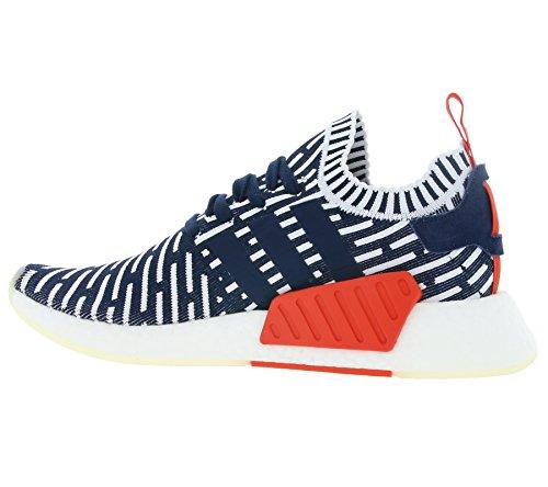 adidas Chaussures NMD_R2 PK Bleu/Rouge/Blanc