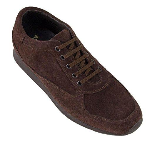 Con Modelo Marron Hasta Altura Fabricados Masaltos De Piel Zapatos Cm Hombre En Aumentan 7 Matera Que Alzas 6BqxSt1w