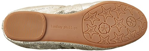 Lindsay Phillips , Damen Ballerinas Metallic Leather 36