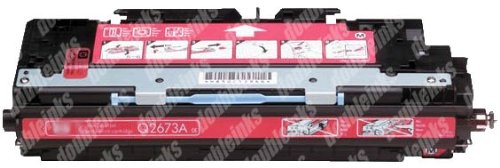 Remanufactured Replacement HP For HP Q2673A Compatible Magenta Toner Cartridge (Q2673a Hp Replacement)