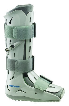 DJO Walker Boot Gray Small Left or Right Foot Hook and Loop Closure