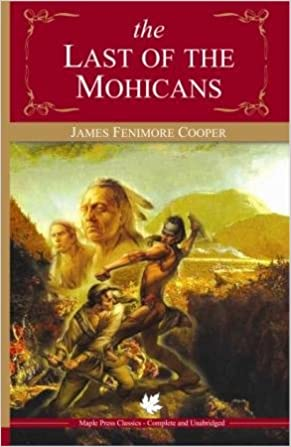 last of the mohicans book
