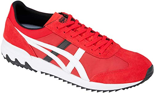 ASICS Onitsuka Tiger California 78 EX Unisex Running Shoes, Classic Red/White, 8.5 M US