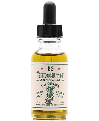Brooklyn Grooming Pilgrim s Hair And Beard Tonic (1 oz)