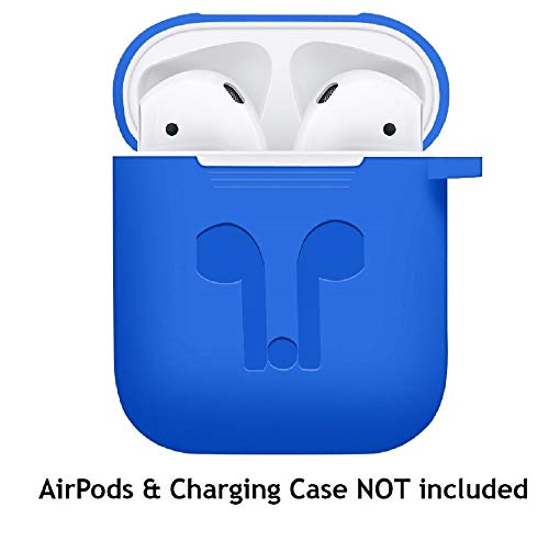 WensLTD Clearance! for AirPods Silicone Case Cover Protective Skin for Apple Airpod Charging Case (Blue) by WensLTD (Image #2)