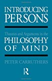 Introducing Persons, Peter Carruthers, 0415045126