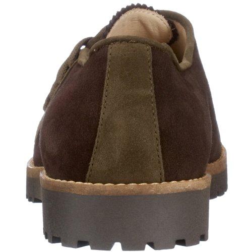 Diavolezza - Zapatos de ante para mujer Marrón