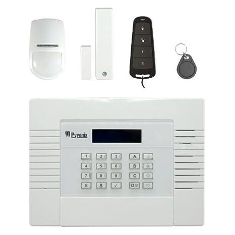 PYRONIX Kit de Alarma Profesional - Comunicación GPRS - Inalámbrico supervisado 868 MHz - Acepta detectores cableados - Certificado Grado 2 - App Móvil y ...