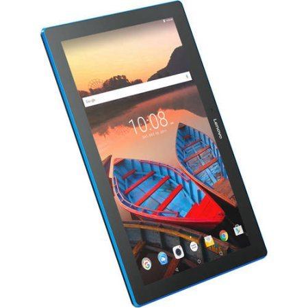 """Lenovo Tab 10 Tablet, 10.1"""" HD Touchscreen, Qualcomm Quad-core Processor 1.30GHz, 1GB Memory, 16GB Storage, Wifi, Bluetooth, Webcam, Up to 10 hours battery life, Android 6.0 OS"""